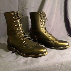Justin Women's Roper Kiltie Western Cowboy Boots